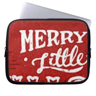 Merry Little _funda_10 Computer Sleeves