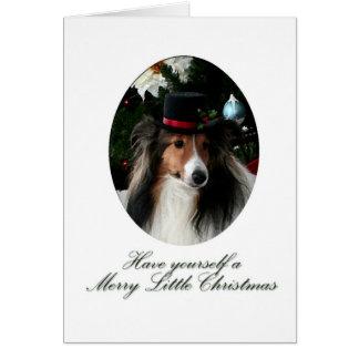 Merry Little Sheltie Card