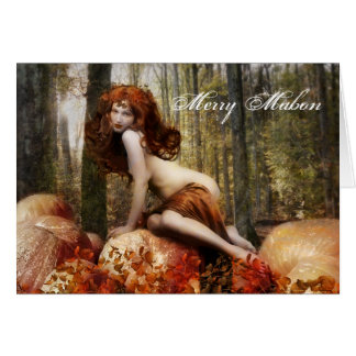 Merry Mabon Card