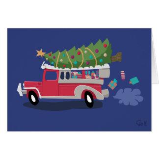 Merry Manila Christmas - Jinglebell Jeepney Card