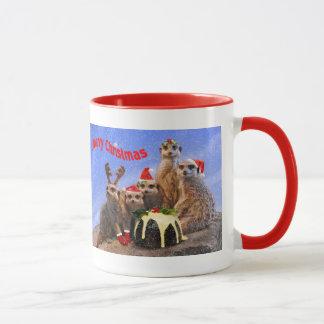 Merry Meerkats Mug