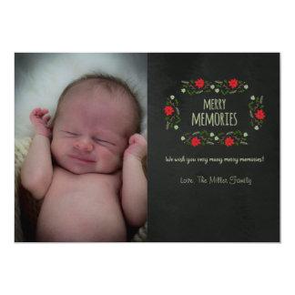 Merry Memories 13 Cm X 18 Cm Invitation Card