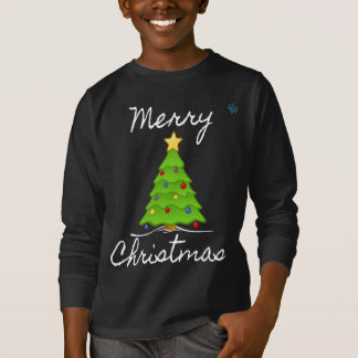 Merry Merry Christmas Tree T-Shirt