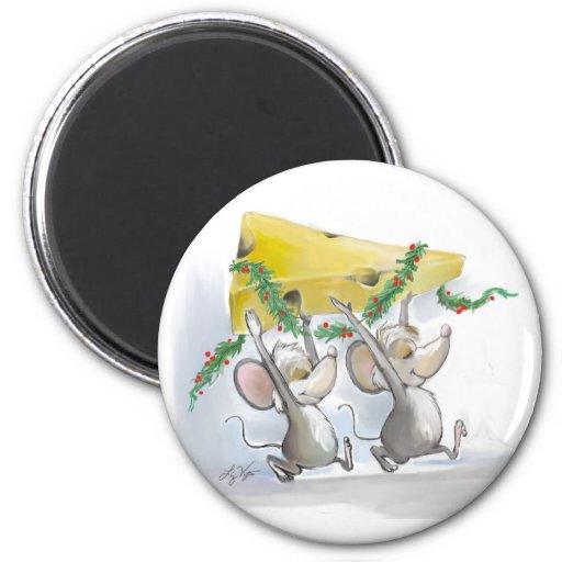 Merry Mice Mic & Mac Magnet