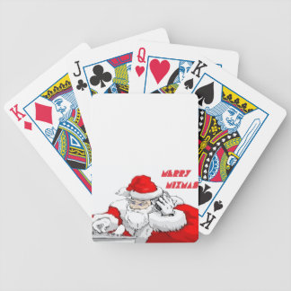 Merry Mixmas Bicycle Playing Cards