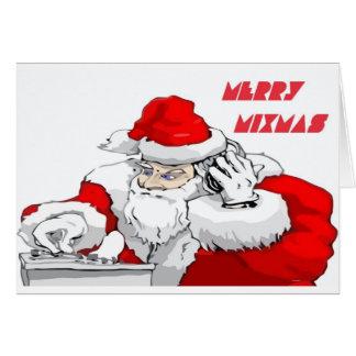 Merry Mixmas Card
