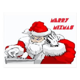 Merry Mixmas Postcard