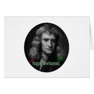 Merry Newtonmas! Card