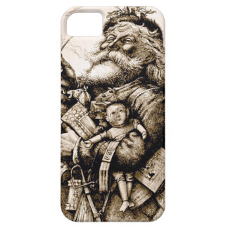Merry Old Santa Barely There iPhone 5 Case