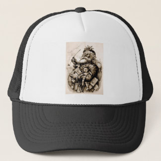 Merry Old Santa Trucker Hat