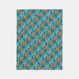 Merry Pickleball Fleece Blanket