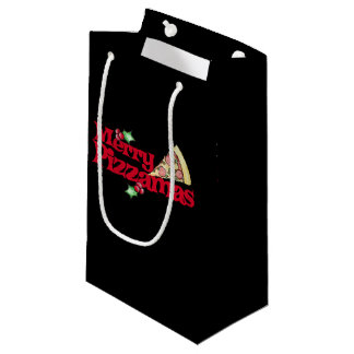 merry pizzamas small gift bag