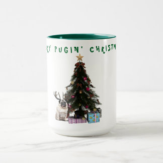 MERRY PUGIN' CHRISTMAS MUG