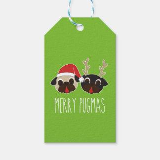 Merry Pugmas Christmas Santa Pug Reindeer Pug