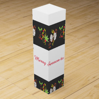 Merry Season Decorative Wine Box