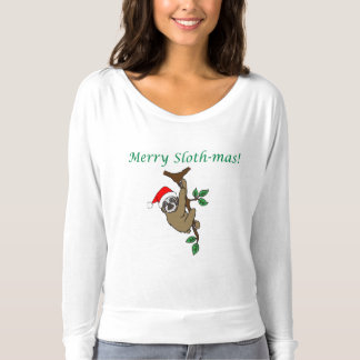 Merry Sloth-mas! Long sleeve Jersey T-Shirt