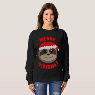Merry Slothmas Cute Christmas Sweater