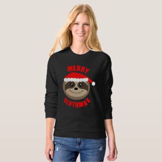 Merry Slothmas Sloth Xmas Christmas Sweater Jumper