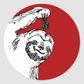 Merry Slothmas Stickers for your Slothmas Cards!