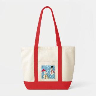 Merry Snowman Impulse bag