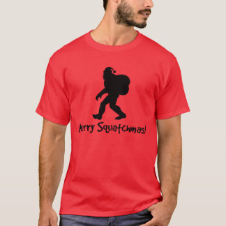 Merry Squatchmas! T-shirt