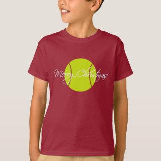 Merry Tennis Christmas T-Shirt