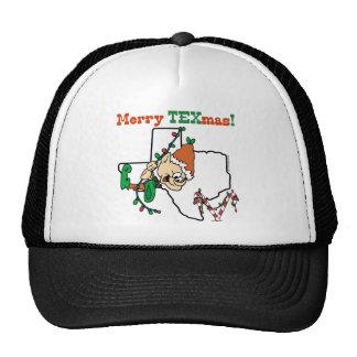 Merry Texmas Christmas Mesh Hat