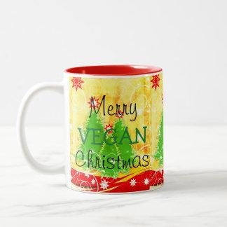 Merry Vegan Christmas,  Christmas Mug For Vegan