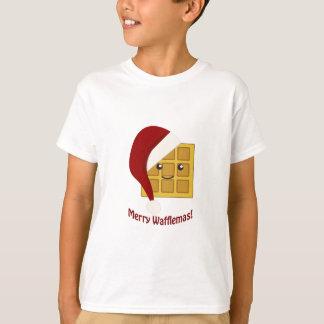 Merry Wafflemas Christmas Waffle T-Shirt