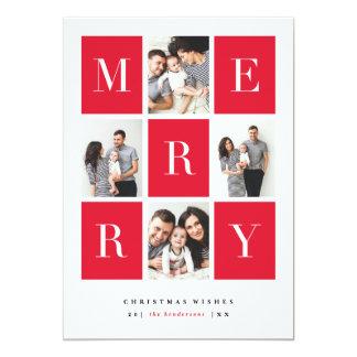 Merry wishes   Christmas card 13 Cm X 18 Cm Invitation Card