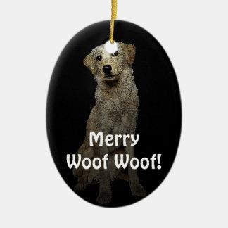 Merry Woof Woof! Christmas Ornament