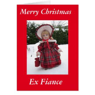 """Merry Xmas Ex Fiance Card"