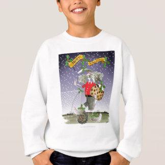 merry xmas football fans sweatshirt