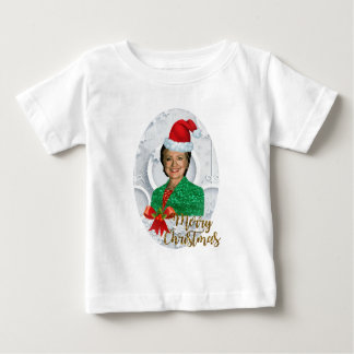 merry xmas Hillary clinton Baby T-Shirt