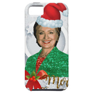 merry xmas Hillary clinton Case For The iPhone 5
