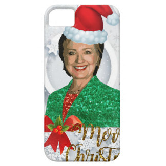 merry xmas Hillary clinton iPhone 5 Cover