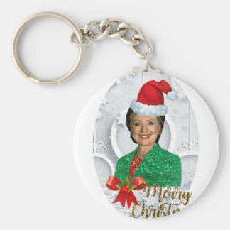merry xmas Hillary clinton Key Ring