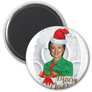 merry xmas Hillary clinton Magnet