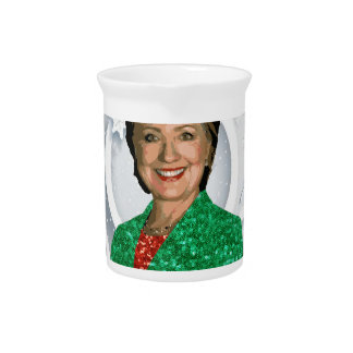 merry xmas Hillary clinton Pitcher