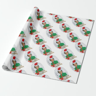 merry xmas Hillary clinton Wrapping Paper