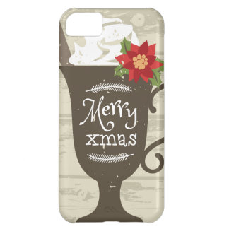 Merry Xmas Holiday Ice Cream iPhone 5C Case