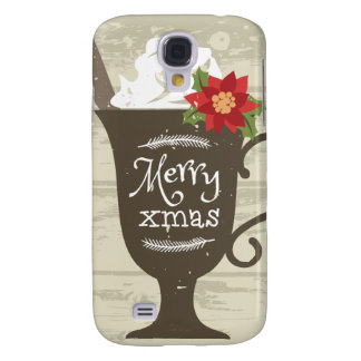 Merry Xmas Holiday Ice Cream Samsung Galaxy S4 Covers