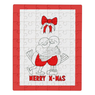 Merry Xmas Jigsaw Puzzle