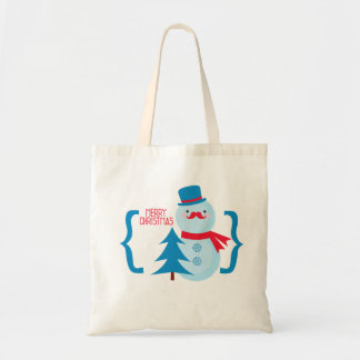 Merry Xmas! Budget Tote Bag