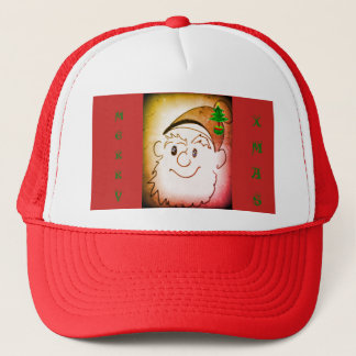 Merry Xmas Trucker Hat