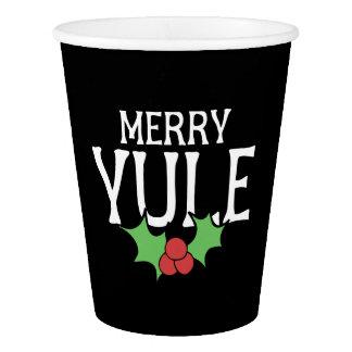 Merry Yule Paper Cup