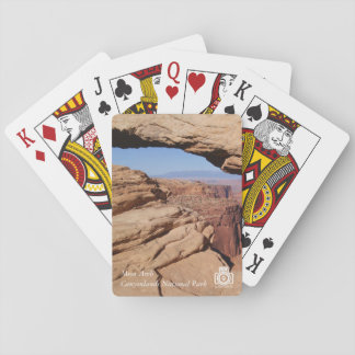 Mesa Arch at Canyonlands NP Playing Cards