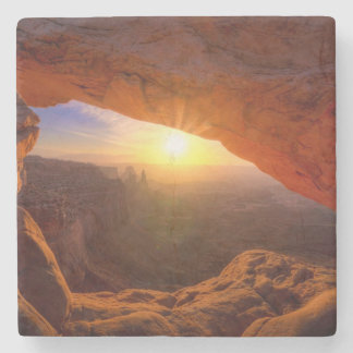 Mesa Arch, Canyonlands National Park Stone Beverage Coaster
