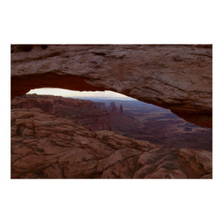 Mesa Arch I from Canyonlands National Park Poster