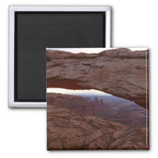 Mesa Arch I from Canyonlands National Park Square Magnet